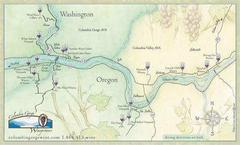 river gorge map winemaking radio learn wine columbia gorge wine grape growers association
