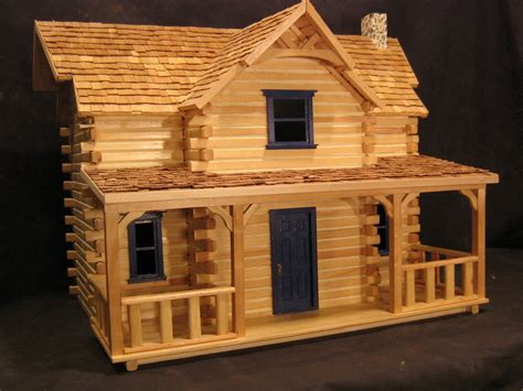 Log Cabin Dollhouse Kit manchester woodworks