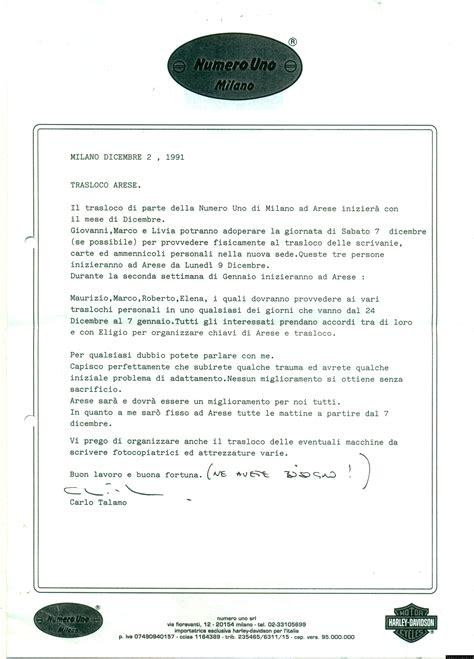 lettera trasferimento sede lettera trasferimento lettera partenza o trasferimento
