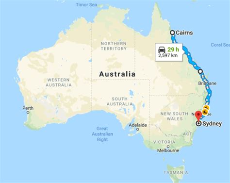 road map of australia east coast the east coast of australia road trip guide 2018