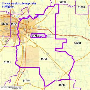zip code map of 31705 demographic profile residential