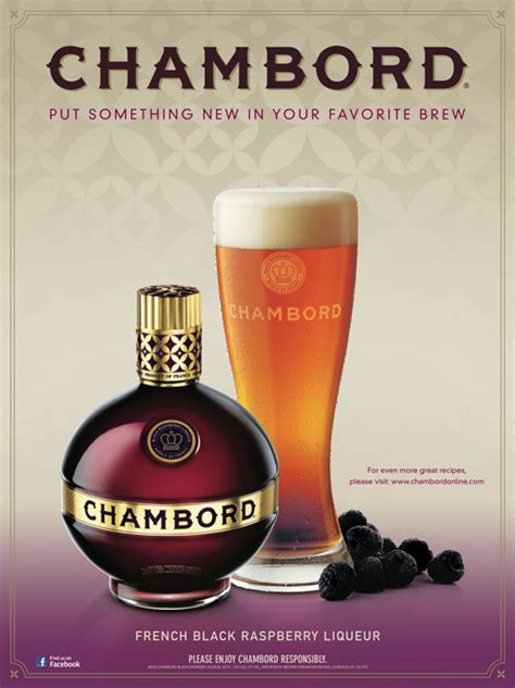 Chambord Shelf by Chambord Liqueur Brand Advertising And Promotions On
