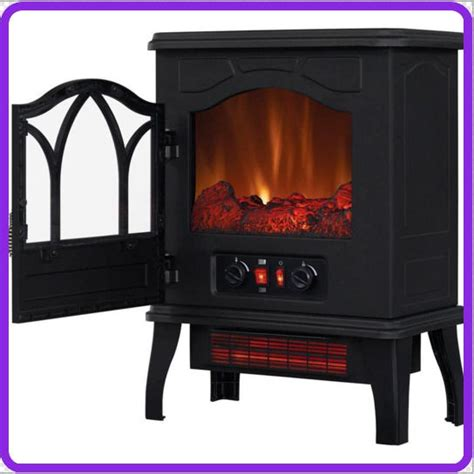 chimneyfree electric infrared quartz stove cozy heater