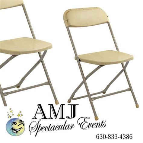 rent folding chairs rent plastic folding chairs in chicago il folding