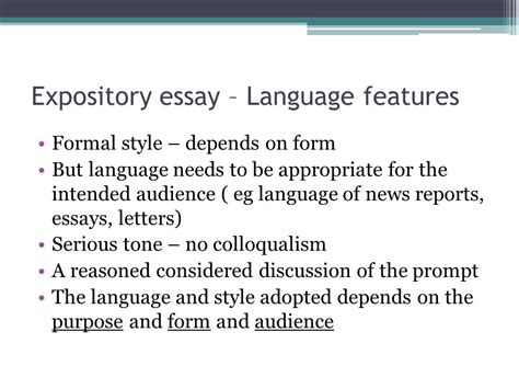 expository sle essay expository essay writing ppt