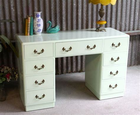 not too shabby retro vintage furniture pastel mint green