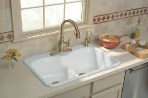 How To Install New Kitchen Faucet Kitchen Sink Designs With Awesome And Functional Faucet