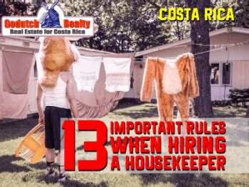 hiring a housekeeper 8 unusual things housekeepers in costa rica do