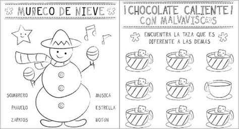 printable christmas coloring pages in spanish spanish in spanish and christmas activities on pinterest