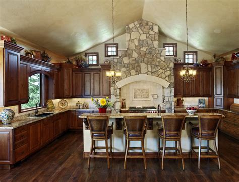 colorado country rustic kitchen denver by