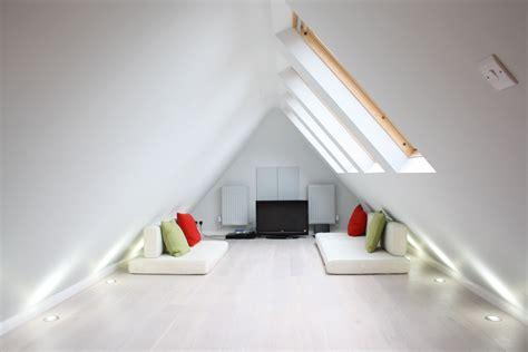 livable attic space smal home loft conversion cinema room hide away in west