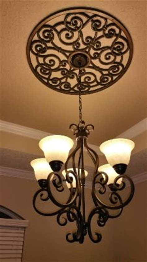 Wrought Iron Ceiling Medallions by Best 25 Wrought Iron Decor Ideas On Iron Wall