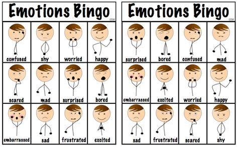 Working On Emotions Preschool Social Emotional