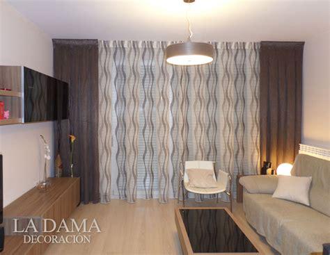 cortinas para salon moderno cortinas para salones modernos en zaragoza la dama