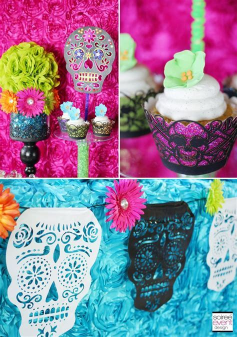 DIY Day of the Dead decorations   Skulls & Dia de los