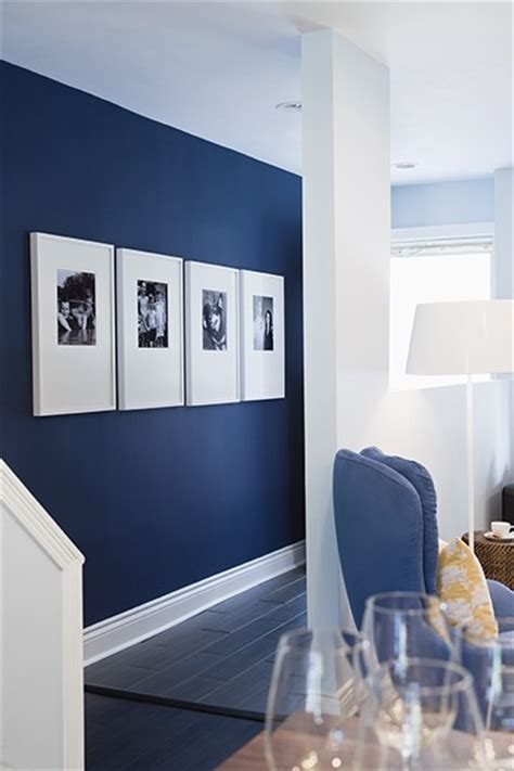 blue accent wall inspired whims a color study blue
