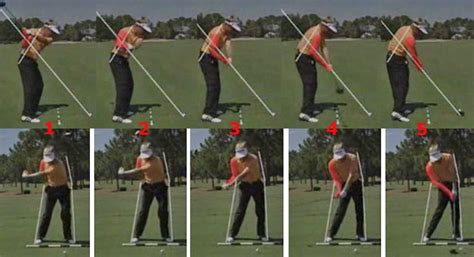 right shoulder golf swing how to move the arms