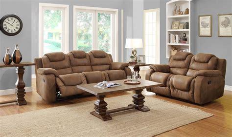 microfiber reclining sofa sets homelegance hoyt reclining sofa set brown microfiber u9618