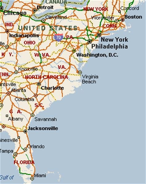 map us atlantic coast atlantic coast map image search results
