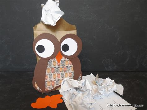 How To Make A Paper Bag Owl - how to make a paper bag owl 28 images 1000 images