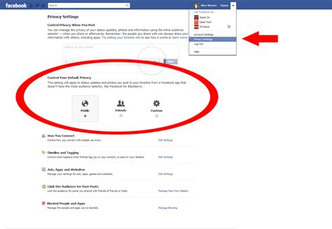 fb html how to control your facebook privacy settings pcworld