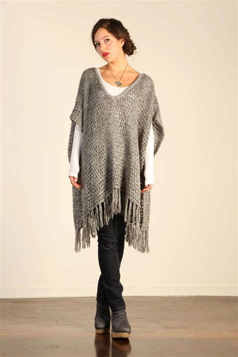 jersey poncho pattern 17 best images about sueteres ponchos y chales on