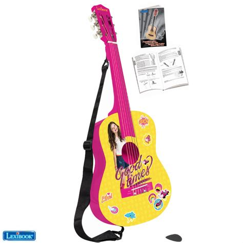 soy luna rock and roll star guitare acoustique disney soy luna lexibook com