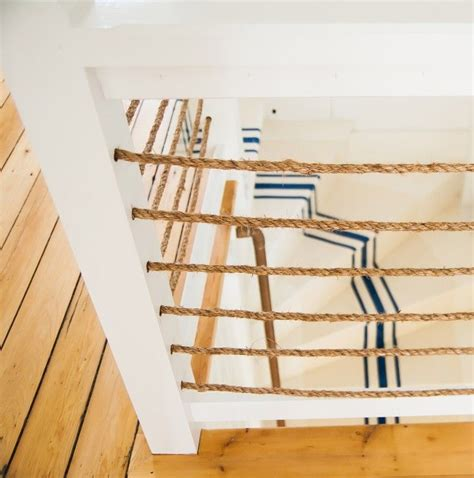 rope banister rail 118 best images about stairs and risers on pinterest