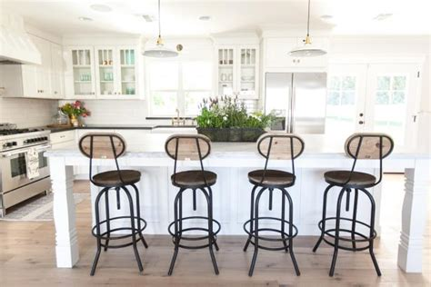 White Cottage Style Bar Stools by Photo Page Hgtv