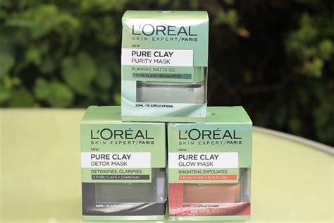 L Oréal Detox by L Oreal Clay Mask Range Purity Detox Glow