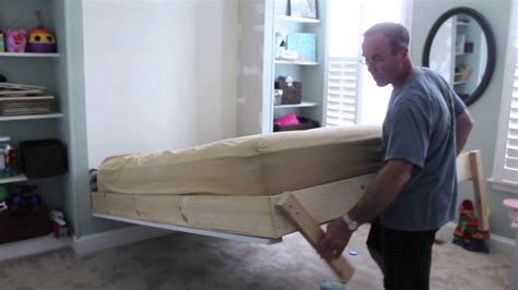 wall to wall bed diy wall bed for under 150 youtube