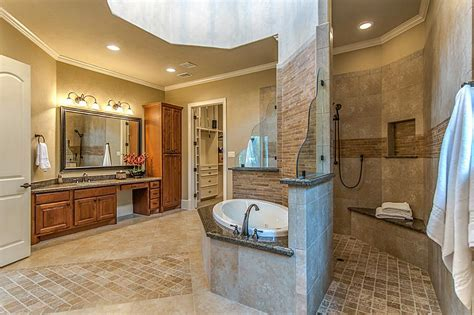 master bathroom plans with walk in shower beauteous 50 master bathroom with walk in shower design