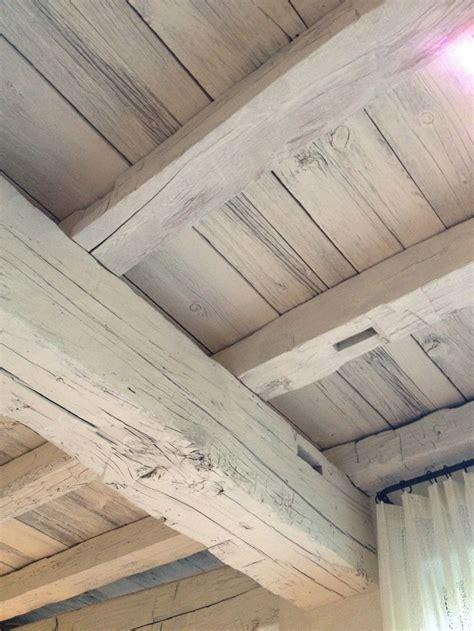 white washed wood beams decorating ideas pinterest