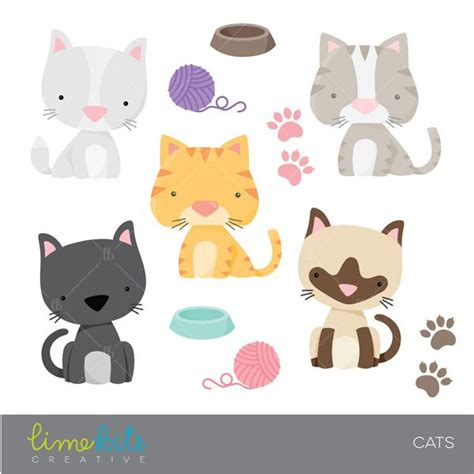 Siamese Cat clipart cute kitty - Pencil and in color ... Free Clipart Of Siamese Cats