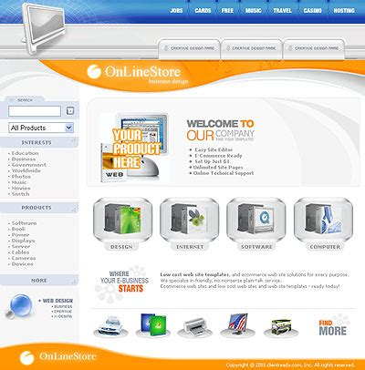 html ecommerce templates free ecommerce website templates free html with css
