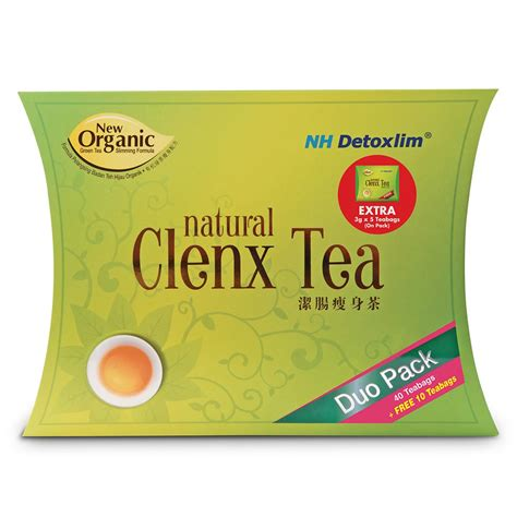 Best Otc Detox Tea by Health Shop Nh Detoxlim Clenx Tea 40s 10s 5s