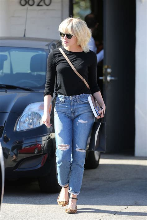 emma stone jeans emma stone in ripped jeans out in beverly hills 05 21 2016