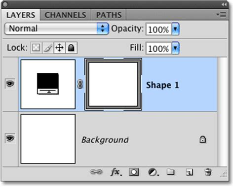 where is the shapes layer option in photoshop cs6 graphic design film strip photo collage in photoshop part 1