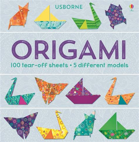 Origami For Children Book - origami 100 tear sheets at usborne children s books