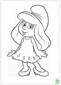 smurf gun colouring pages