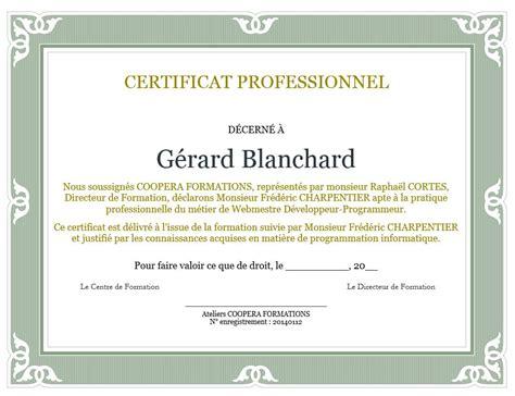 design stage certificate formation informatique a distance gratuite cours d