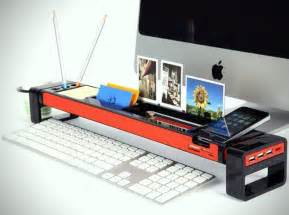 Office Desk Organizer Improve Your Office With The Istick Desktop Organizer Coolpile