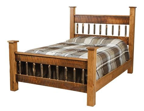 Jake's Amish Furniture   #CH 661 Square Post Bed