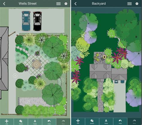 Backyard App mobile me a landscape design app that gets personal