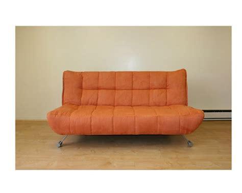 klick klack sofa bed jm downtown 7403 7402 177 orange klick klack sofa bed
