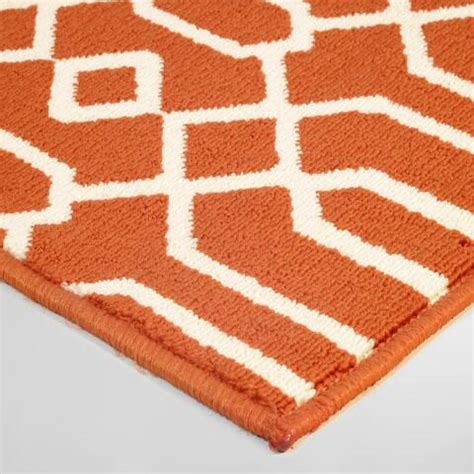 world market rug sale orange cortes indoor outdoor area rug world market