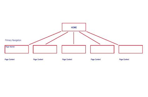 site map template site map of website