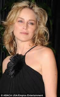 sharon stone reveals her secret to looking so young sharon stone i am ageing lucky lucky me daily mail