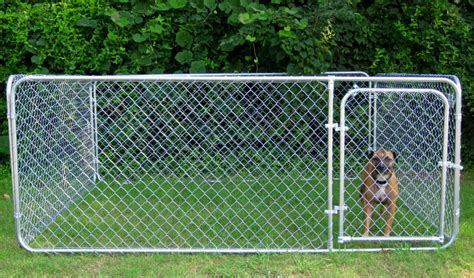menards kennels outdoor kennel 6 x 10 x 4 galvenized with gate fishingbuddy