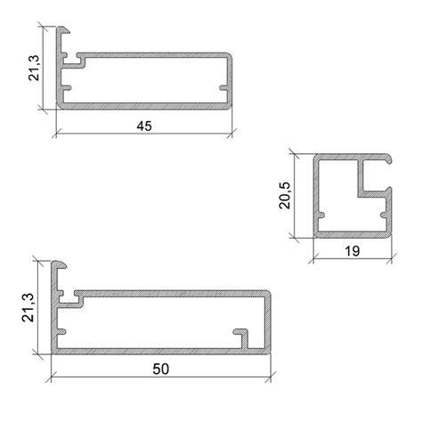 profili per cucine profili in alluminio per ante e accessori per ante